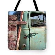 Montana Truck Tote Bag