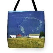 Montana Whispers Tote Bag