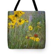Montana Wildflowers Tote Bag