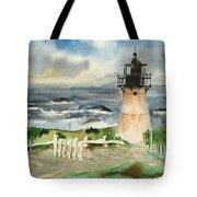 Montara Lighthouse, Plein Air Tote Bag
