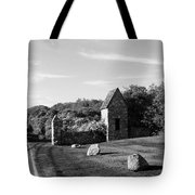 Montauk Guard House B W Tote Bag