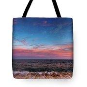 Montauk Pink Surf Tote Bag