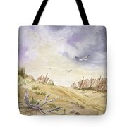 Montauk Sand Dune Tote Bag