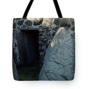 Monte Alban Danzantes Stone Tote Bag
