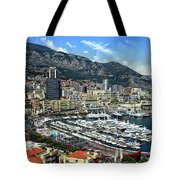 Monte Carlo Harbor View Tote Bag