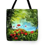 Monte Rio Poppies Tote Bag