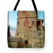Montefollonico Stone Tower And Fortress Tote Bag