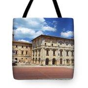 Montepulciano Piazza Grande Tote Bag