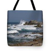 Monterey Coastline Tote Bag