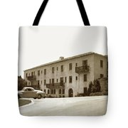 Monterey Hospital Was Built In 1930 At 576 Hartnell St, Monterey Tote Bag