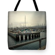 Monterey Marina Tote Bag
