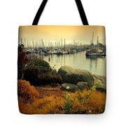Monterey Marina Vista Tote Bag