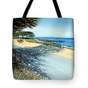 Monterey Shadows Tote Bag