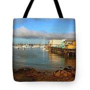 Monterey Wharf Tote Bag