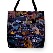 Monterosso By Night Tote Bag