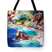 Monterosso  Cinque Terre Italy  Tote Bag