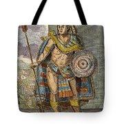 Montezuma II (1480?-1520) Tote Bag