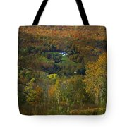 Montgomery Hillside Of Color Tote Bag