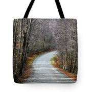 Montgomery Mountain Road Tote Bag