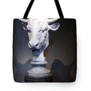 Monti's Head Of A Bull Tote Bag