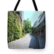 Montmarte Paris Cobblestone Streets Tote Bag