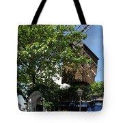 Montmarte Paris Windmill Tote Bag