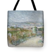 Montmartre  Behind The Moulin De La Galette Paris, July 1887 Vincent Van Gogh 1853  1890 Tote Bag
