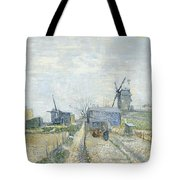 Montmartre   Mills And Vegetable Gardens Tote Bag