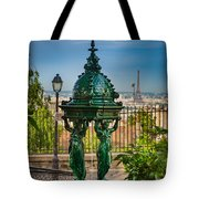 Montmartre Wallace Fountain Tote Bag