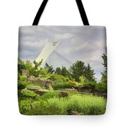 Montreal Biodome Backdrop Tote Bag