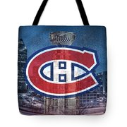 Montreal Canadiens City Tote Bag