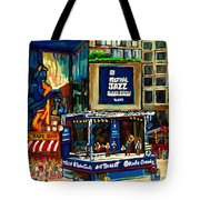 Montreal International Jazz Festival Tote Bag