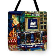 Montreal Jazz Festival Arcade Tote Bag