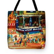 Montreal Jazz Festival Tote Bag