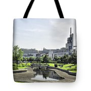 Montreal Peace In The Rush Tote Bag