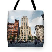Montreal - Place Darmes Tote Bag