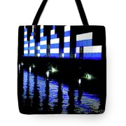 Montreal Port Night Tote Bag