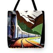 Montreux, Golden Mountain Railway, Switzerland Tote Bag