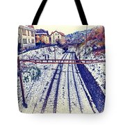 Montreux, Tracks In The City. Tote Bag
