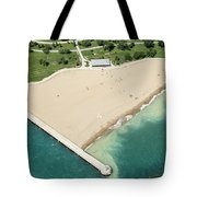 Montrose Beach Tote Bag