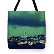 Montrose Harbor Evening Tote Bag
