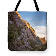 Montserrat Hike Painterly Tote Bag