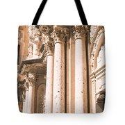 Montserrat Monastery Tote Bag