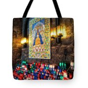 Montserrat Shrine Tote Bag