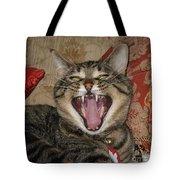 Monty's Yawn Tote Bag