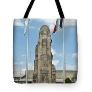 Monument Central Square Quezaltenango Guatemala Tote Bag