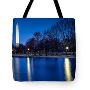 Monument In Blue Tote Bag