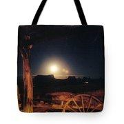 Monument Moonrise Tote Bag