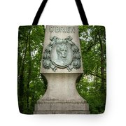 Monument Of Major Obrien In Jedlesee Vienna Tote Bag