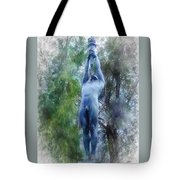 Monument To Francisco Ferrer Y Guardia Tote Bag